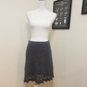 Athleta Cutback Crochet Knit Skirt